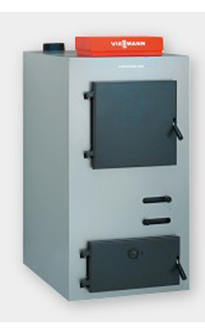 VIESSMANN VITOLIGNO 100-S de 20 Kw solo calefacción con rendimiento del 88%