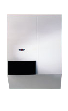 WOLF CGW 20/120 grupo térmico  con acumulador dinamico de 50 l. de 23 KW con salida de gases horizontal