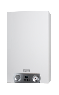 REMEHA AVANTA 24S estanca sólo calefacción de condensación de 24 Kw, con plantilla y kit de evacuación.