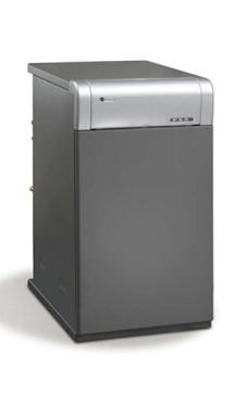 DOMUSA CLIMA PLUS H de pie de acero de 26,7 Kw mixta instantanea