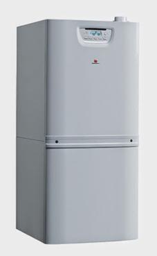SAUNIER-DUVAL DUOMAX CONDENS 35 mixta 32,5/34,7 KW (calefacción y acs) con acumulador de 90 litros, incluye kit de tubos para recirculación Duomax y Kit de conexiones.